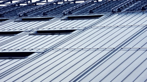 This is an image of a commercial roofing.